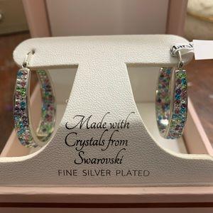 Sofia James  Swavroski Crystal Earrings